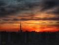 [空][雲][東京][朝][日の出](2018-12-26)