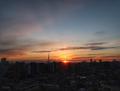 [空][雲][東京][朝][日の出](2018-12-27)