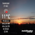 [Instaweather](2018-12-27)