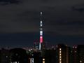 [東京]日本国旗をイメージした年越し特別ライティング(2019-01-01)