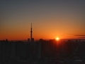 [空][雲][東京][朝][日の出]日の出(2019-01-07)