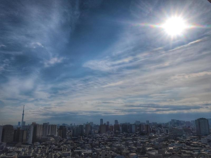 日食中の空(2019-01-06)