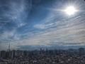 [空][雲][東京]日食中の空(2019-01-06)
