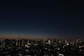 [星][空][雲][東京][朝]2019-01-22 05:50 金星と木星