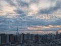 [空][雲][東京][朝]2019-01-23 06:50