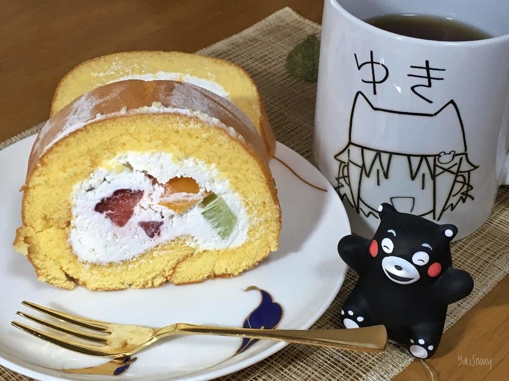 成城石井のロールケーキ(2019-01-27)