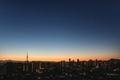 [星][空][雲][東京][朝]2019-01-27 06:09 金星と木星