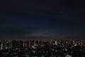 [星][空][雲][東京][朝]夜明けの金星と木星 2019-01-28 05:49