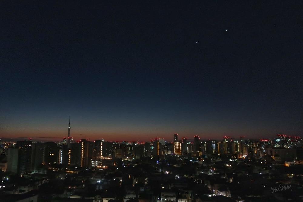 2019-01-29 05:50 金星と木星