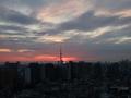 [日の出][空][雲][東京][朝]2019-01-31 06:44