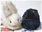 ぬいぐるみオフ―シルベスターとウサギ