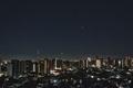 [月][星][空][雲][東京][朝]月と金星と木星 2019-02-02 04:59