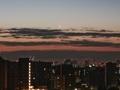 [月][空][雲][東京][朝]二十八日月 2019-02-03 05:58