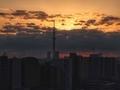 [朝焼け][空][雲][東京][朝]2019-02-03 06:57