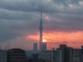 [日の出][空][雲][東京][朝]2019-02-04 06:47
