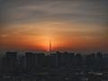 [日の出][空][雲][東京][朝]2019-02-07 06:43