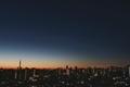 [星][空][雲][東京][朝]金星と木星とスカイツリー(2019-02-12 05:50)