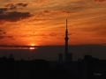 [日の出][空][雲][東京][朝]2019-02-17 06:36