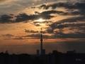 [太陽][空][雲][東京][朝]2019-02-17 07:05