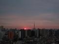 [日の出][空][雲][東京][朝]2019-02-19 06:28