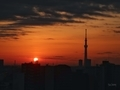 [日の出][空][雲][東京][朝]2019-02-22 06:26