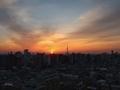 [日の出][空][雲][東京][朝]2019-02-24 06:24