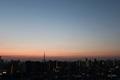 [星][空][雲][東京][朝]スカイツリーと金星(2019-02-27 05:49)