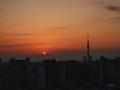 [日の出][空][雲][東京][朝](2019-02-27 06:24)
