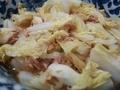 [料理]生姜香る!ツナと白菜の和風蒸しの簡単レシピ(2019-02-28)