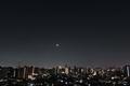 [星][空][雲][東京][朝]月と金星(2019-03-02 04:40)