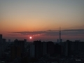 [日の出][空][雲][東京][朝](2019-03-02 06:19)