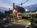 [電車][東京][踏切]山手線唯一の踏切(2019-03-02)
