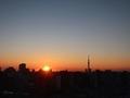 [日の出][空][雲][東京][朝](2019-03-08 06:08)