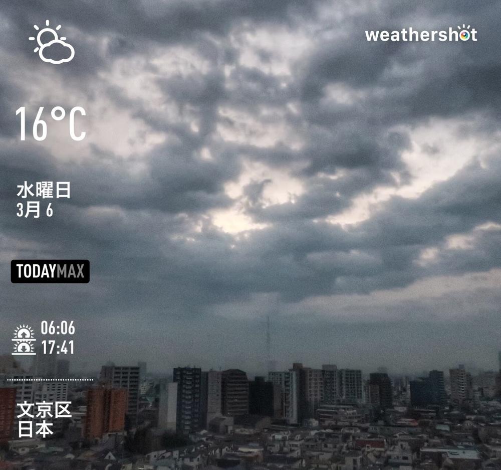 WeatherShot(2019-03-06)