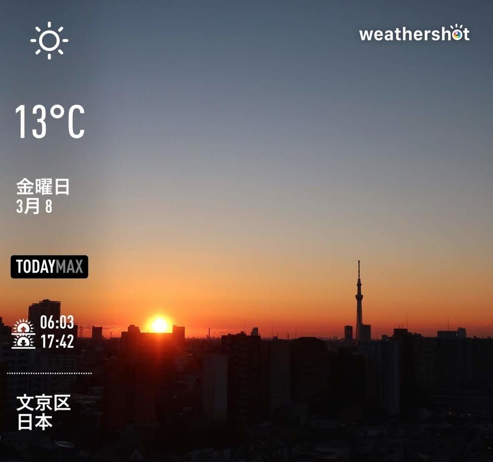 WeatherShot(2019-03-08)