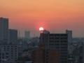 [日の出][空][雲][東京][朝]2019-03-13 06:02