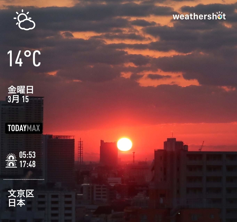 WeatherShot(2019-03-15)