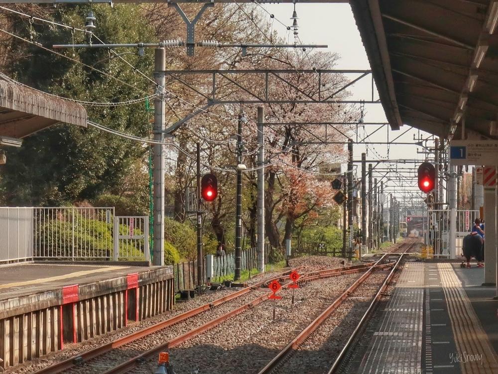 鷹の台駅(2019-04-06)