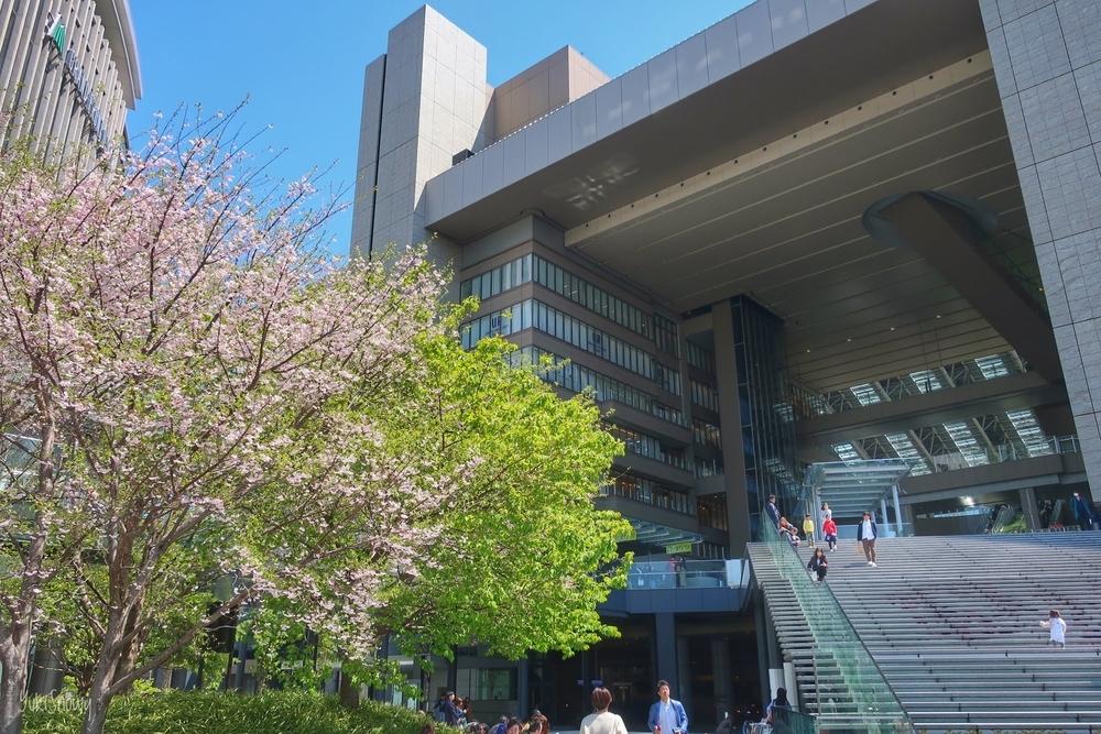 大阪駅うめきた広場(2019-04-13)