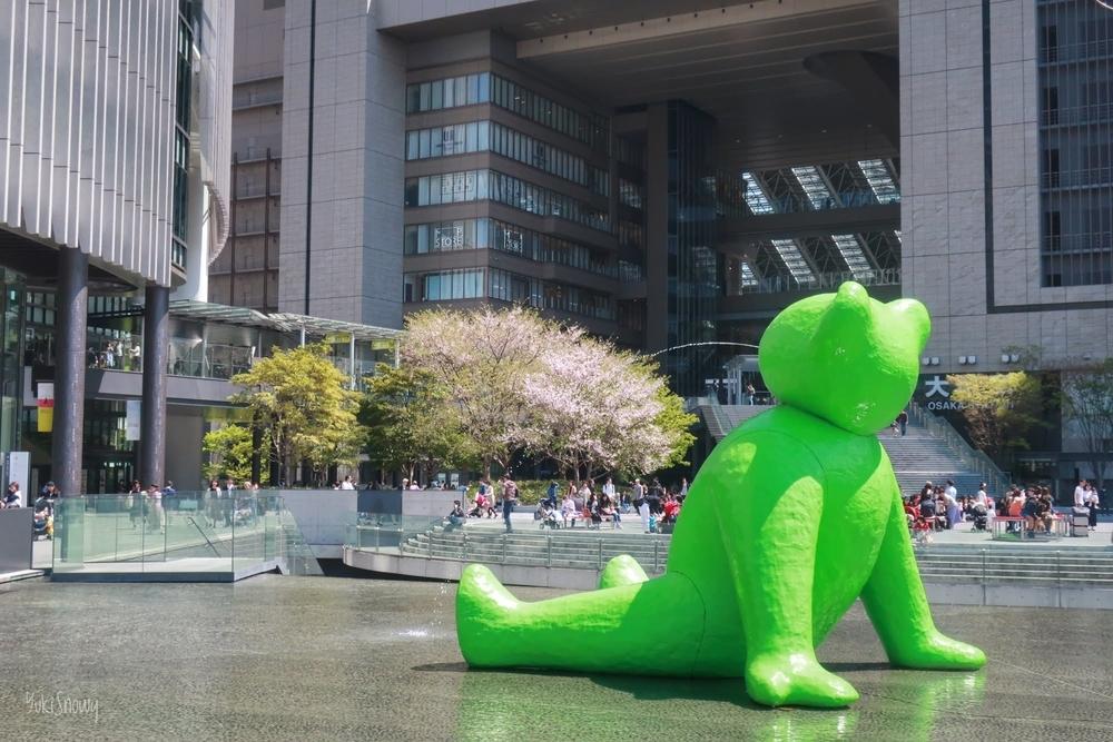 うめきた広場(2019-04-13)
