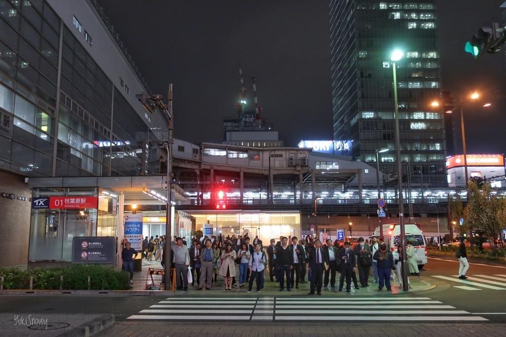 秋葉原駅前(2019-04-19 20:17)