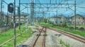 [東京][線路]西武鉄道 拝島駅近く(2019-05-05)