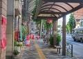 [東京][街角][バス停]向ヶ丘二丁目バス停@本郷通り(2019-05-17)