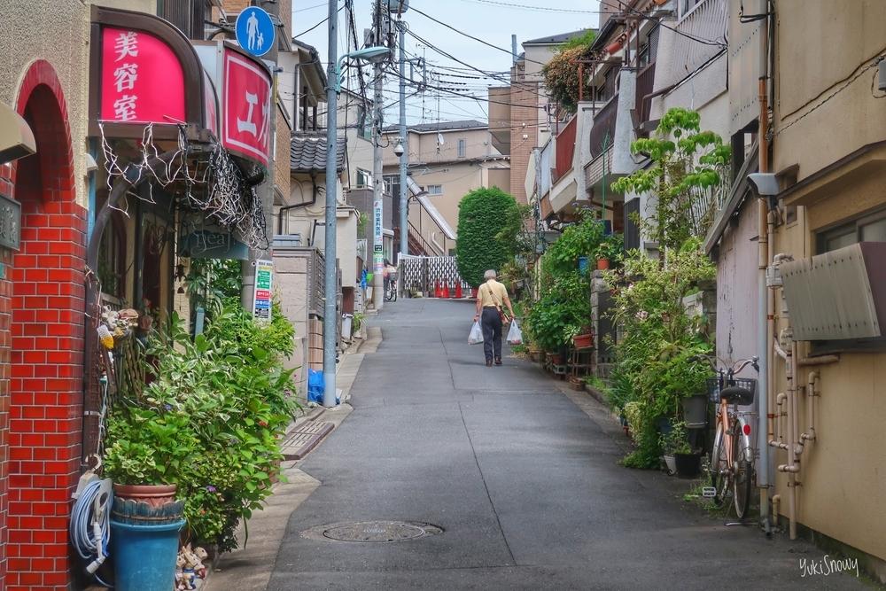 北大塚の坂道(2019-05-20)