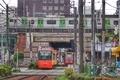[電車][東京]都電荒川線と山手線@大塚駅(2019-05-20)