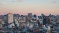 [夕暮れ][空][雲][東京]2019-06-16 18:54
