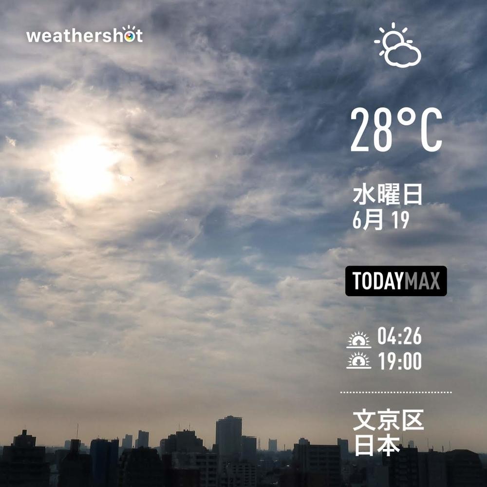 WeatherShot(2019-06-19)