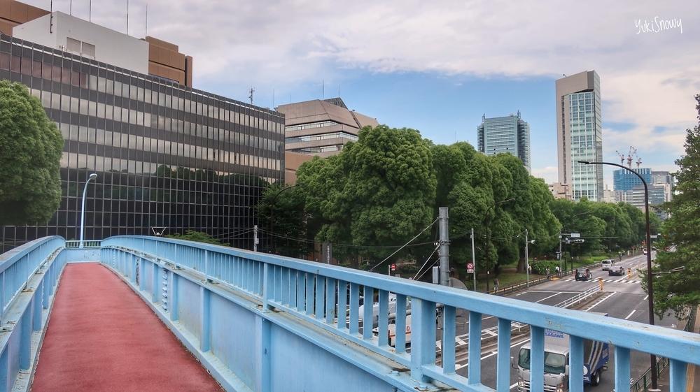 芝公園歩道橋(2019-06-28 14:13)
