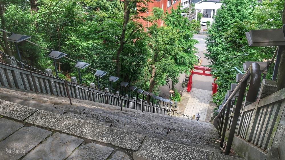 愛宕神社 出世の階段(2019-06-28)