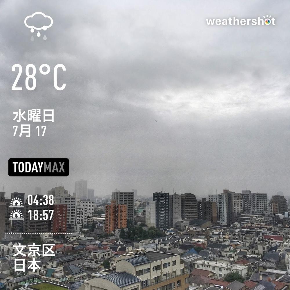 WeatherShot(2019-07-17)